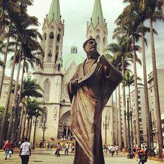 Praça da Sé em São Paulo, SP