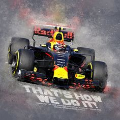 """Max Verstappen won the Grand Prix of Malaysia his second Formula 1 race by catching up with the pole position early in the game. Lewis Hamilton and holding it behind."""" sounded it through the onboard radio! Red Bull F1, Red Bull Racing, F1 Racing, Drag Racing, Ferrari F12berlinetta, Formula 1 Car, Honda Cars, Car Illustration, Thing 1"""