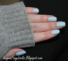 Nubar Baby Blue - Perfect Chanel RIVA Dupe!