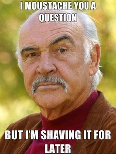 shaving it for later... funny