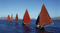Galway Hooker Boats
