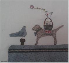 ...und am Kai begegnet uns in Teil 5 vom Seaside-Town-Projekt ganz typisches von Lynette Anderson ... ...Hund Hugo und die Vögelchen dürf...