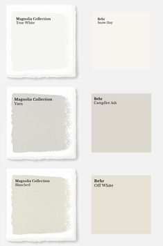 Magnolia Paint Colors Matched to Behr. Magnolia Paint Colors Matched to Behr - Joyful Derivatives. Get your favorite Magnolia paint colors from Behr at your local Home Depot. I've matched their entire Market Collection for you, so you can get painting! Magnolia Paint Colors, Fixer Upper Paint Colors, Magnolia Homes Paint, Behr Paint Colors, Room Paint Colors, Interior Paint Colors, Paint Colors For Living Room, Paint Colors For Home, Wall Colors