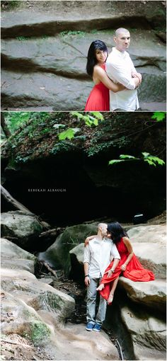 Turkey Run State Park Engagement Session by Rebekah Albaugh