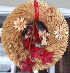 Cristmas wreath with Ikea supplies