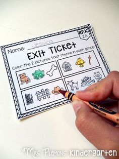 If you thought exit tickets were just for the older grades, check out these AMAZING primary common core exit tickets for ELA. Even if you've never used exit tickets, these are SO quick and easy to use!: