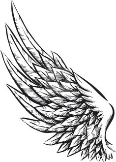 Tattoos for men and women wings tatuajes de alas de angel, t Kunst Tattoos, Bild Tattoos, Body Art Tattoos, New Tattoos, Tattoo Drawings, Sleeve Tattoos, Tattoos For Guys, Tattoo Sketches, Tattoo Art