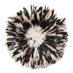 Ju Ju feather hat - wall art $625