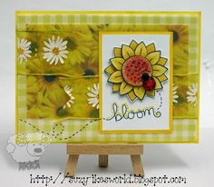 Ike's World: SUNSHINY DAY | Digital stamp image by Newton's Nook Designs