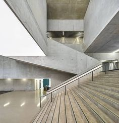 Concrete Music Conservatory in France