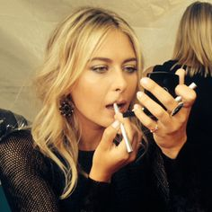 ESPY Awards Exclusive: This Is How Maria Sharapova Got Ready for Her Major Night  #InStyle