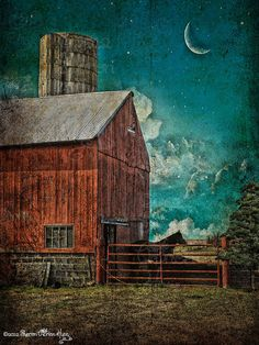 There's just something about an old red barn that is BIG in my heart!