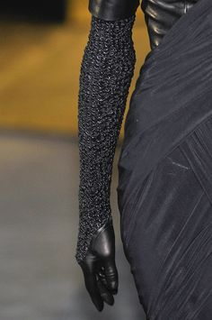 Chain mail & leather gloves for Asha, Alexander Wang