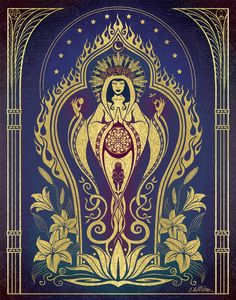 Sacred Mother- Global Goddess series by Cristina McAllister