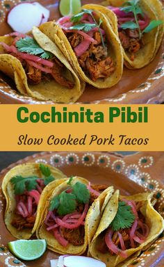 Cochinita Pibil - Slow Cooked Pork from Mexico's Yucatan Region. Full of exotic spices with notes of citrus. So delicious! Click for the full recipe.