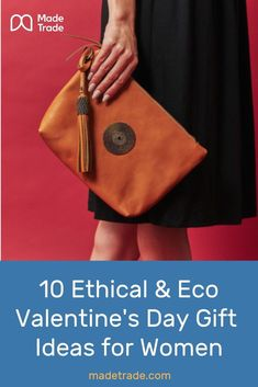 Ethical and Eco Conscious Valentine's Day Gift Ideas for Women. Sustainable Gifts, Sustainable Fashion, Sustainable Living, Ethical Fashion Brands, Fair Trade Jewelry, Fair Trade Fashion, Vegetable Tanned Leather, Valentine Day Gifts, Pretty In Pink