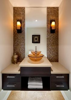 Annabern - contemporary - powder room - other metro - by Jenny Martin Design