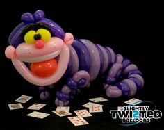 Cheshire Cat | Slightly Twisted Balloons