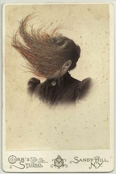 Paintings on Cabinet Cards by Tom Butler