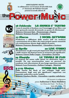 Locandina evento musicale