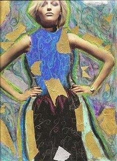 Gustave Klimt art project. 4th/5th grade