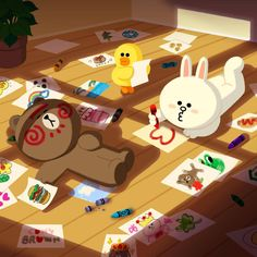 line brown wallpaper laptop Cute Love Pictures, Cute Love Gif, Cartoon Stickers, Cartoon Pics, Lines Wallpaper, Iphone Wallpaper, Line Cony, Castlevania Lord Of Shadow, Cony Brown