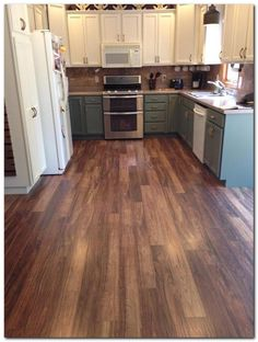 Choose Simple Laminate Flooring In Kitchen And 50 Ideas