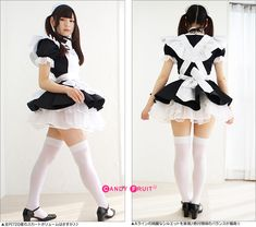 Maid Outfit, Maid Dress, Maid Cosplay, Cosplay Girls, Harajuku Fashion, Fashion Outfits, Japanese School Uniform Girl, Themed Outfits, Cute Girl Outfits