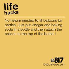 DIY Helium Balloons – 1000 Life Hacks DIY Helium Balloons – 1000 Life Hacks,Tipps Alltag/ Life Hacks Improve your life one hack at a time. 1000 Life Hacks, DIYs, tips, tricks and More. Amazing Life Hacks, Simple Life Hacks, Useful Life Hacks, Life Hacks Home, Hacks Diy, Cleaning Hacks, 1000 Lifehacks, Party Hacks, Party Ideas