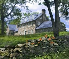 Renovation in Middleburg, Virginia by Donald Lococo Architecture.