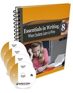 All Essentials in Writing courses include an instructional video and a textbook/workbook. Essentials in Writing is a complete grammar and composition curriculum for students in grades 8th Grade Writing, Middle School Writing, In Writing, Writing Curriculum, Writing Lessons, Homeschooling, Homeschool Curriculum, Learning To Write, Student Learning