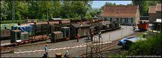 Überblick über das Gruben- und Feldbahnmuseum Theresia in Witten