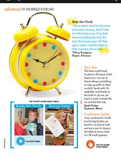 """Parents Magazine, """"It Worked For Me,"""" September 2011"""