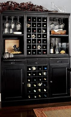 Bar Cabinet With Wine Fridge - Foter
