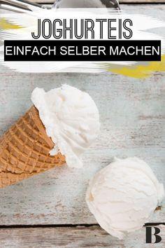 Yogurt ice cream – Recipes And Desserts Healthy Summer Recipes, Healthy Dessert Recipes, Smoothie Recipes, Cake Recipes, Spaghetti Eis Dessert, Yogurt Ice Cream, Yogurt Recipes, Ice Cream Recipes, Frozen Yogurt