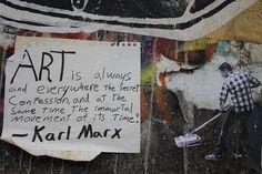 Karl Marx on art