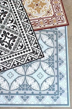 Moroccan Tile Vinyl Floor Mats - EVERYTHING - HOME GOODS