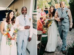 Elise and Renee- Modern Backyard wedding in Sacramento, California by Sarah Maren Photography