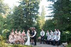 Outdoor Oregon Garden Ceremony | photography by http://www.deylahussphotography.com/