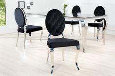 Piękne, eleganckie krzesło Modern Baroque będzie świetnym i funkcjonalnym dodatkiem do Twojej jadalni i salonu. Mebel odnajdzie się w mieszkaniach w stylu glamour i nie tylko. Sprawdź inne meble linii Modern Baroque.