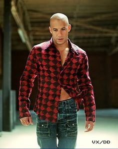 Sexy Man Vin Diesel.