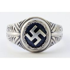 NSDAP sterling silver ring