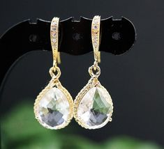 Wedding jewellery bridal earrings