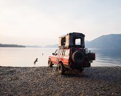 maddieonthings:  One of the very best campsites I've ever had⚡️ | Toyota Land Cruiser and camping