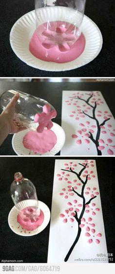 DIY Flower Art