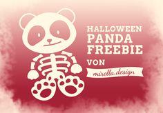 mirella.design: Halloween Panda Freebie