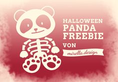 Halloween Panda Freebie