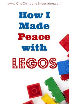 LEGOS are awesome, but the never-ending LEGO organization struggles are real. If you have a LEGO fan in your life, find out how I made peace with those little pieces - I think it's brilliant!