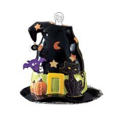 Spooky hat #halloween #candle holder by #PartyLite