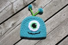 Little monster newborn photo prop by Oh so cute Props